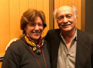 Sue Mattison and Jim Moore